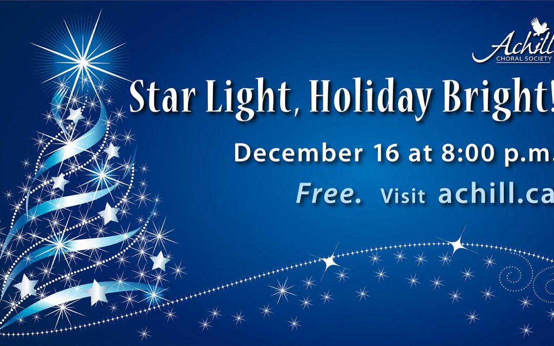 STAR LIGHT, HOLIDAY BRIGHT!