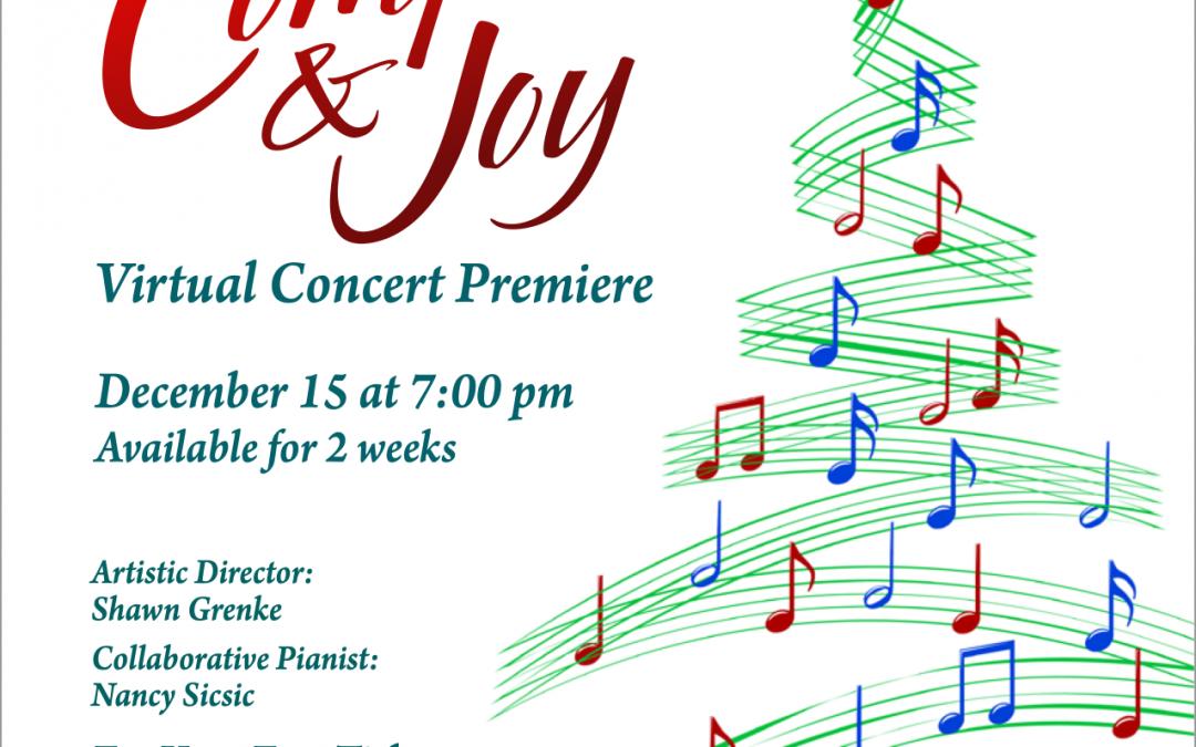 Comfort & Joy — Winter 2021 Concert